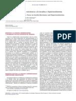 Aterogenesis y Diabetes Resistencia a La Insulina e Hiperinsulinemia