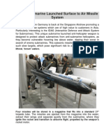 IDAS - Submarine Launched Surface to Air Missile System.docx