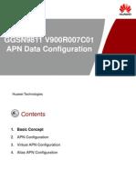 OWD090706(slide)GGSN9811 V900R007C01 APN configuration-20081020-B-V1.0