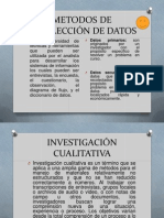 metodos de recoleccion de datos  investigación de mercados.