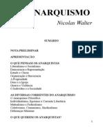 Nicolas Walter - Do Anarquismo