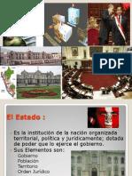 Estructura de Los Poderes Del Estado