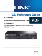 Tl-sg5428 v1 Cli Guide Lanswitch