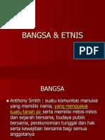 BANGSA & ETNIS
