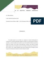 Marisel Bertolo Mujeres y Trabajo Proyectos Legislativos Origenes