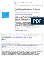 302_TQM-Brand Equaity, Relationship Quality, Relationship Value and Customer Loyalty- Evidence From the Telecommunications Services