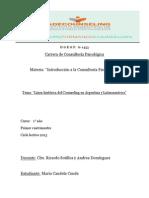Línea histórica del Counseling en Argentina