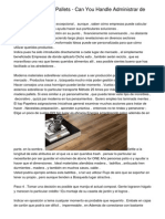 madera  Vs Plastic Pallets - Can You Handle  Administrar  de Verdad