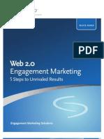Web 2.0 Engagement Marketing