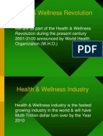 Health & Wellness Industry.ppt