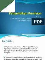 Penyelidikan penilaian.pptx