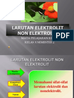 LARUTAN ELEKTROLIT DESAIN  jadi .ppt