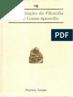COMTE-SPONVILLE, A. Apresentação da Filosofia