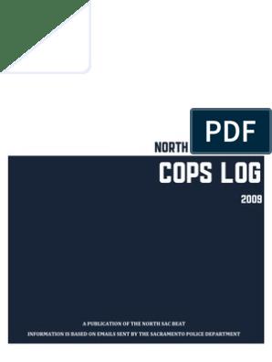 North Sacramento Cops Log 2009 | Parole | Search Warrant