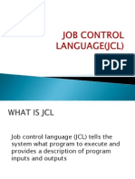 Job Control Language(Jcl)