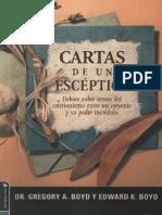 Cartas de Un Esceptico - Gregory y Edward Boyd - Libro Cristiano