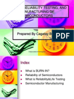 BURN-IN, RELIABILITY TESTING, AND MANUFACTURING OF.ppt