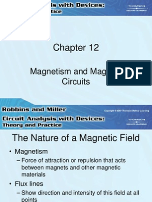 Magnetism and Magnetic Circuits ppt | Magnetic Field | Magnetism