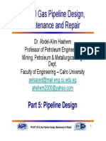 Piple Linepart 5 Structural Design of Pipelines