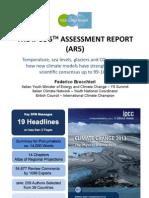 Presentazione IPCC AR5 alla COY9
