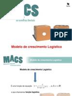 Modelo de crescimento Logístico