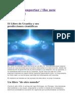 El Libro de Urantia y Sus Predicciones Cientc3adficas