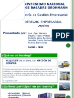 Leasing Trabajo Diapos