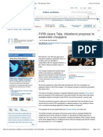 FIPB clears Tata, Westland proposal to assemble choppers - The Economic Times.pdf