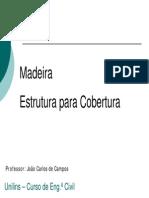 Cap.IIE - Execução de Cobertura de Madeira