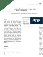 Metabolic Enchelopathy