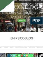 PSICOBLOG blogbook 2012-13