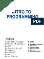 OSP INTROPRO LN1  C Programming Steps.pptx