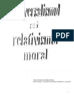 Universalismul si relativismul moral.doc