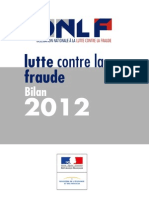Rapport 2012 de la délégation nationale à la lutte contre la fraude