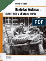 32.- La Batalla de Las Ardenas I Saint Vith y El Brazo Norte