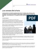 Los sonidos de la furia del Grupo Clarín - Ley de Servicios de Comunicación Audiovisual - Argentina