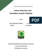 Penerbitan Sekuritas Ekuitas dan Kewajiban Jangka Panjang.doc