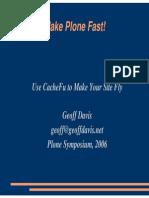Make Plone Go Fast.pdf