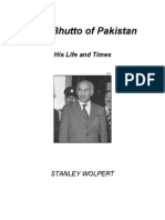Zulfi Bhutto of Pakistan