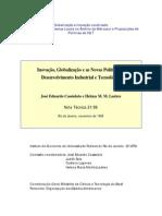 Inovação, Globalização e as Novas Políticas de