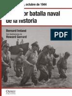 33.- La Mayor Batalla Naval de La Historia - El Golfo de Leyte, Octubre de 1944