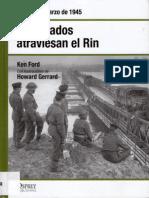 39.- Los Aliados Atraviesan El Rin - Alemania, Marzo de 1945