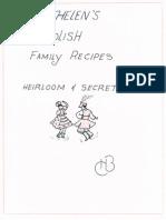Trip's grandma's recipe book