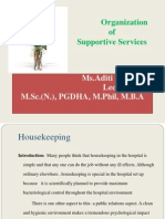 house keeping service in hospital