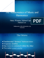 The Mathematics of Music and Harmonics