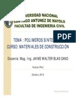 7.1 Polímeros sint