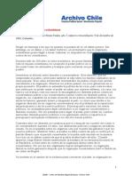 Mensaje a La Oligarquia Colombiana