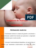 Seminário de nutrição( Amamentação)