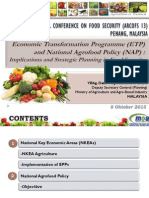 ETP and Food Security