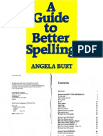 A Guide to Better Spelling